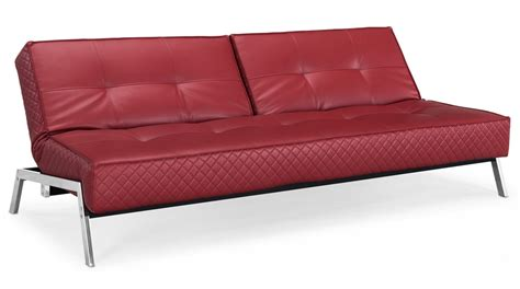 leather convertible sofa bed dino red leather convertible sofa bed sofa beds