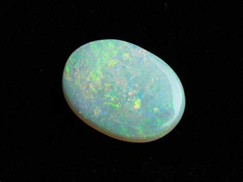 Mexican Agate 4 05ct 8 05ct oval straw opal cy23 gems by gerald