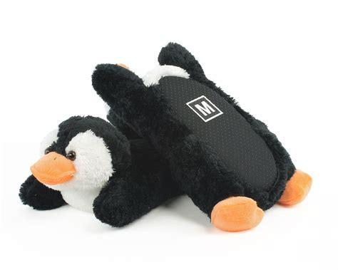 penguin slippers fuzzy penguin slippers animal slippers