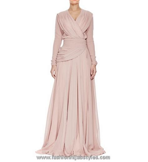 Dress Inayah 001 light colour abayas and dresses evening gowns new modern fashion styles for