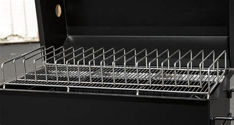 Best Rib Rack For Smoker by Meadow Creek Sq36 Barbeque Smoker