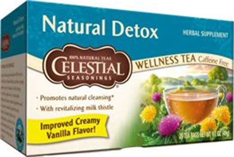 Strong Detox Drinks by Detox Tea Has Echinacea Clover A Strong Herb That