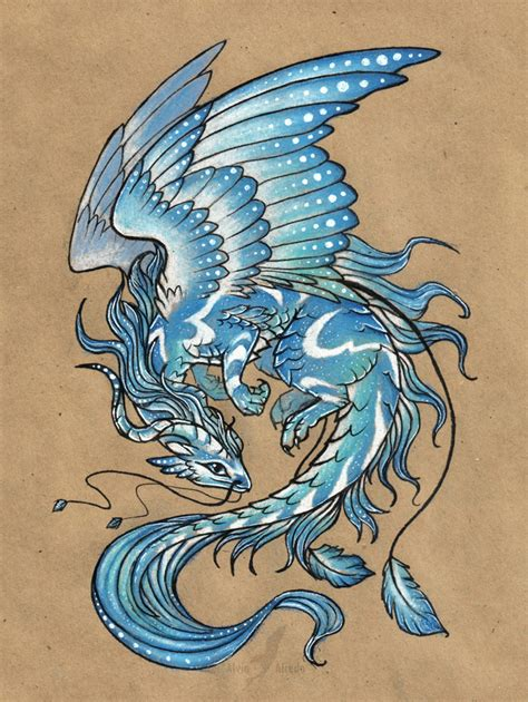 water dragon tattoo designs wind original on ebay by alviaalcedo on
