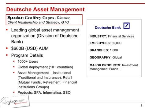 asset management deutsche bank global integrated solutions real challenges real solutions