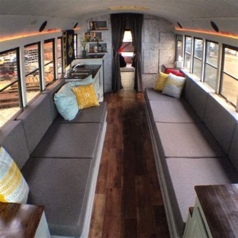 old school bus conversions interior bus conversions 8 students convert old school bus into an amazing diy