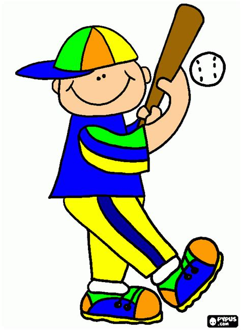 fotos o imagenes de niños jugando ni 241 o beisbolist para colorear ni 241 o beisbolist para imprimir