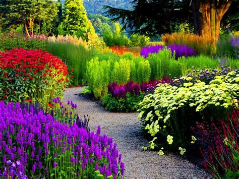Beautiful Flower Garden Wallpaper Happy Colors On Jars Kalocsai And Still