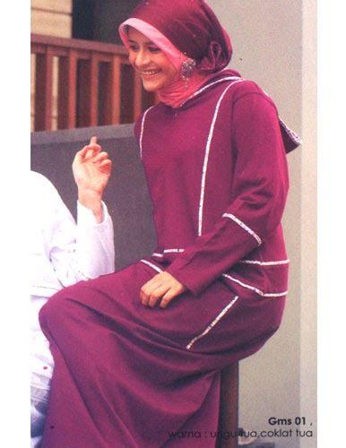 Gamis Gelora Coklat Nu 01 sik sik clothing sik clothing busana muslimah