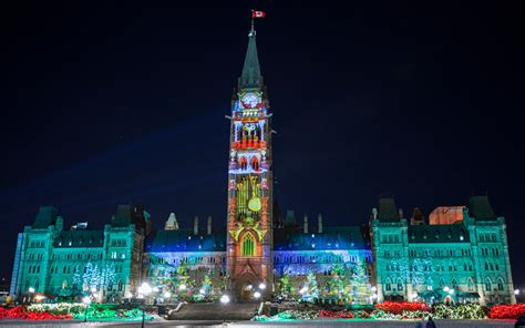 canada christmas lights ottawa s best light displays 2016 parliament hill taffy and much more