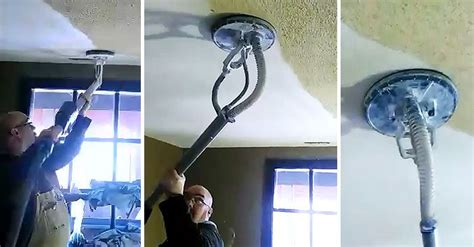How To Remove Acoustic Ceiling Texture by Best 20 Remove Popcorn Ceiling Ideas On