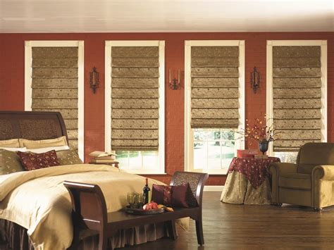 bedroom shades chic blackout roman shades in bedroom mediterranean with