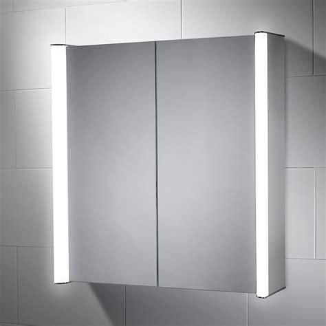 buy expo double mirror bathroom cabinet shaver socket aspen diffused double cabinet mirror