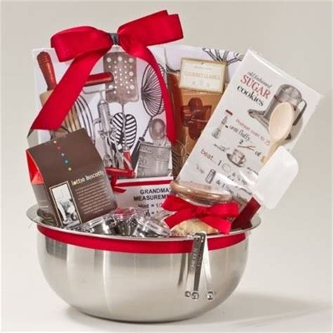 gift basket idea for the baker on your list projects to