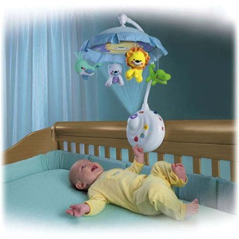 Best Crib Toys For Babies by Fisher Price Precious Planet 2 In 1 Projection Mobile Crib Toys Baby