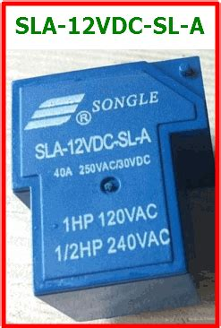 Relay Sla 12vdc Sl A By Bietronik sla 12vdc sl a datasheet dc 12v 30a relay songle