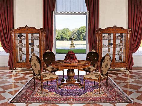 sale da pranzo stile classico tavolo rotondo per sala da pranzo stile classico idfdesign