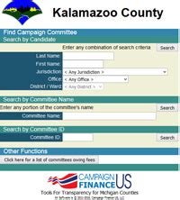 Kalamazoo Marriage Records Kalamazoo County Caign Finance Information Kalamazoo County Clerk Register Office