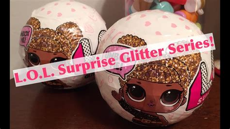 Lol Doll Glitter Series Ori new l o l glitter series blind bag toys lol dolls unboxing review