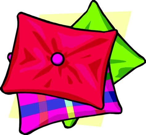 Clip Pillow by Pillowcase Clipart Clipart Suggest