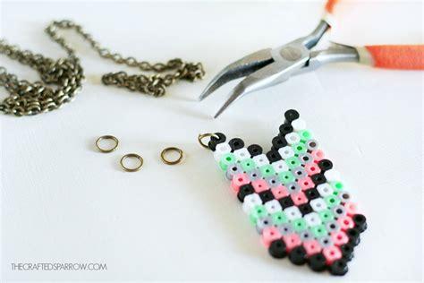 perler bead necklace car interior design