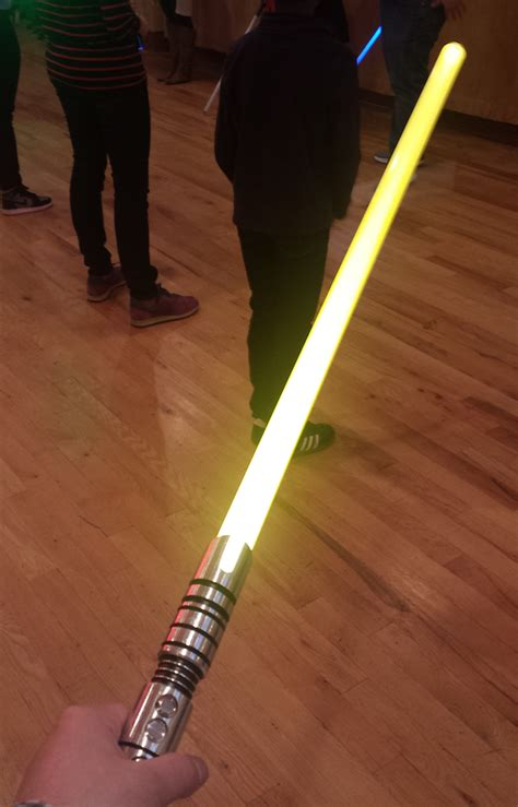 Yellow Light Saber by Adventures Of A Jedi Padawan Lightsaber