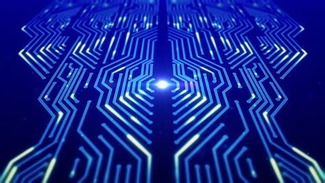 growing circuit board blue    shutterstock