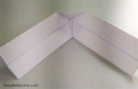 Origami Boomarang - origami tutorial how to make a paper boomerang