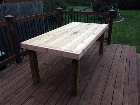 Wood Patio Table Pallet Coffee Table For Indoor Outdoor Pallet Furniture Diy