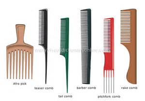Clothing amp articles personal accessories hairdressing combs