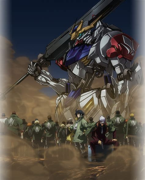 Gundam Mobile Suit 27 anime mobile suit gundam iron blooded orphans saison