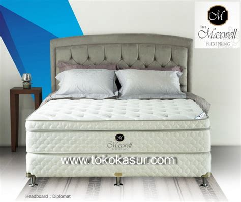 Royal Salute Orthopedic Kasur 160x200cm Pillowtop Quantum royal salute orthopedic pillowtop 27 cm toko kasur bed murah simpati furniture