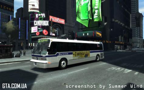 nyc gmc gmc rts 1988 mta new york city для gta 4 gta ua