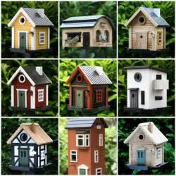 Birdhouse designs for unique look indoor and outdoor design ideas