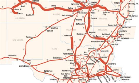 map of railroads in texas union pacific trains per day trains magazine