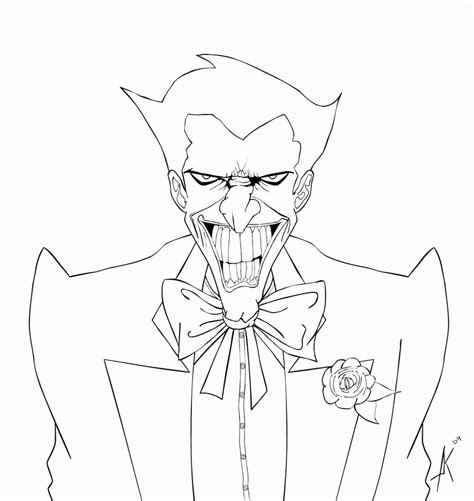 joker coloring pages the joker coloring pages coloring home
