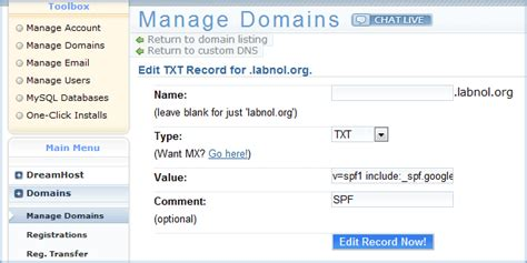 How To Get Records Prevent Your Gmail From Getting Rejected As Spam With Spf