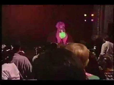 barney and the backyard gang barney in concert barney in concert soundtrack barney theme song youtube