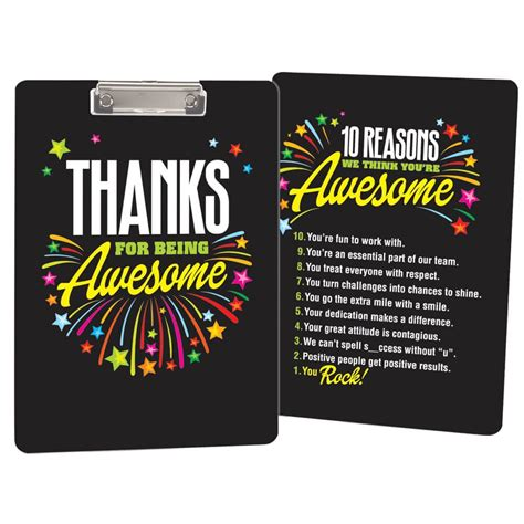 awesome clipboard positive promotions