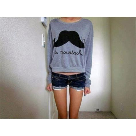 Sweater Moustache 54 sweater moustache grey wheretoget