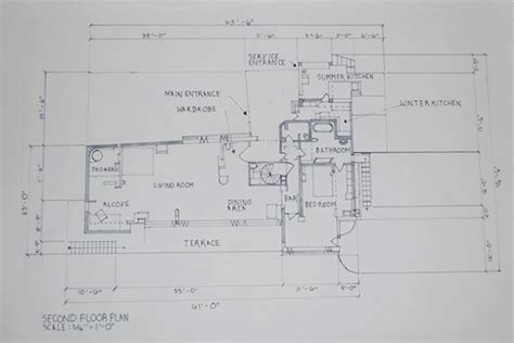 Commercial Floor Plan Design Eileen Gray S E 1027 On Philau Portfolios