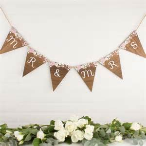 Top Christmas Gifts For Your Girlfriend - personalised wedding wood bunting create gift love