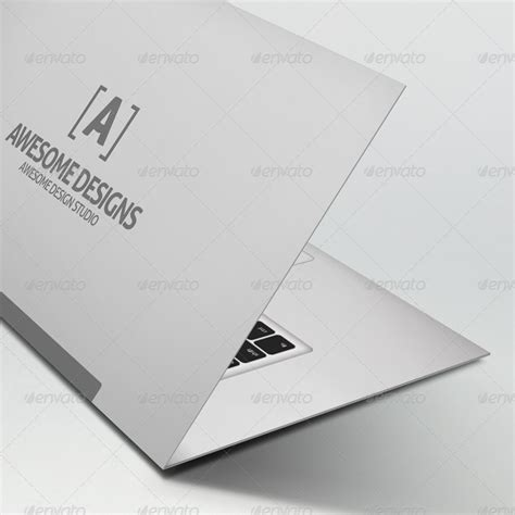 foldable business card template mybook pro folded business card template by zeppelin