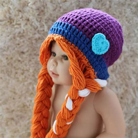 Handmade Childrens Hats - baby frozen crochet hats winter handmade hat