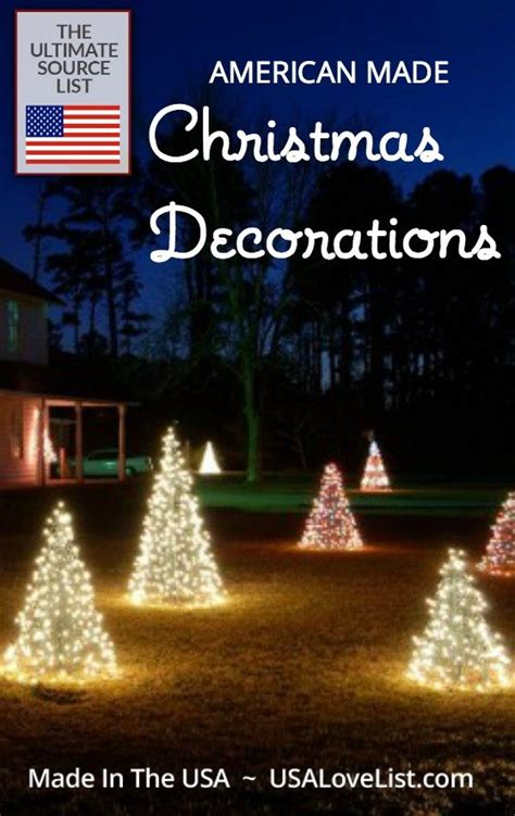 american made christmas trees decorations deck the halls with usa made our source list