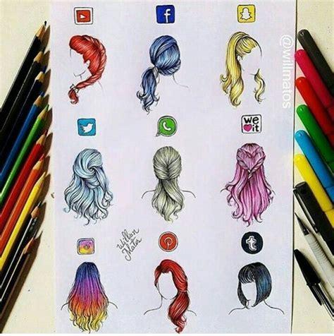 hairstyles facebook app aplikace jako 250 česy aplikace pinterest drawings