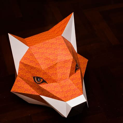 Papercraft Fox - paperized crafts