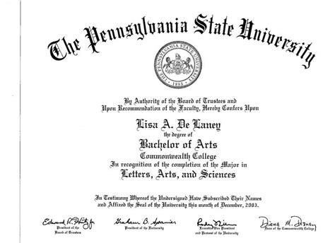 masters degree certificate template master s degree