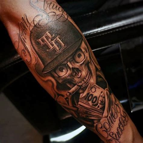money sleeve tattoo designs 50 money tattoos for wealth of masculine design ideas