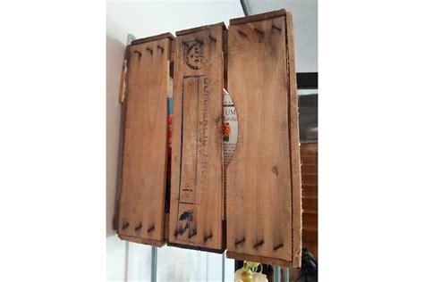 cassette di legno riciclato lavori con cassette di legno idee per decorare il bagno