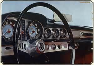 Volvo P1800 Steering Wheel Upholstery P1800